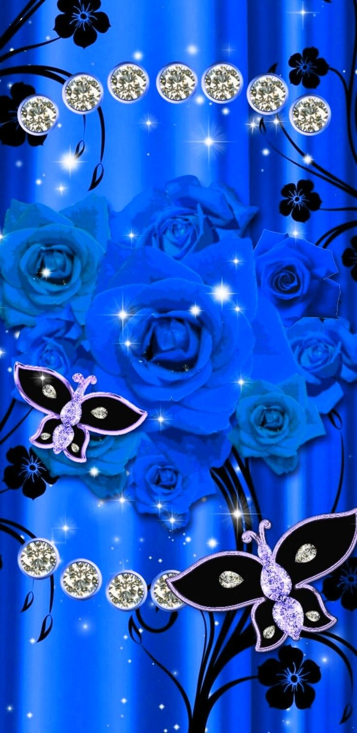 Pin by Brittany on bling | Bling wallpaper, Butterfly ...