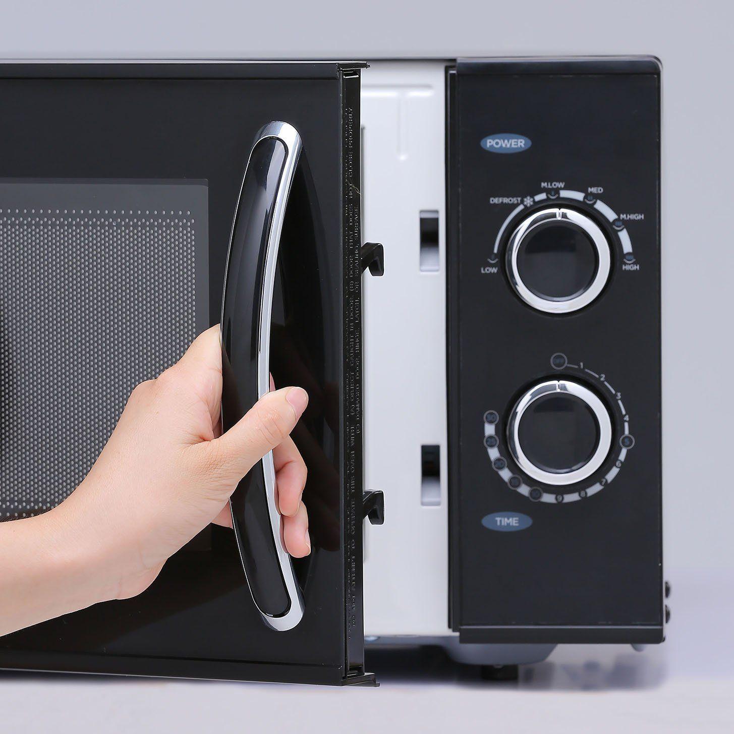 Counter Top Rotary Microwave Oven 0 9 Cubic Feet 900 Watt Black