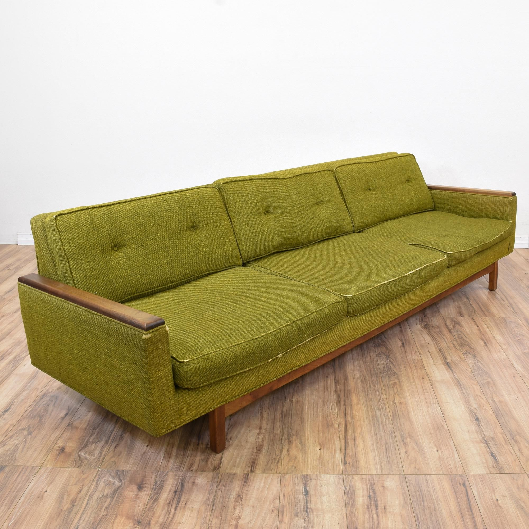 Modern Low Back Sofas Black Leather Sofa Seat Covers This Mid Century Is Upholstered In A Durable