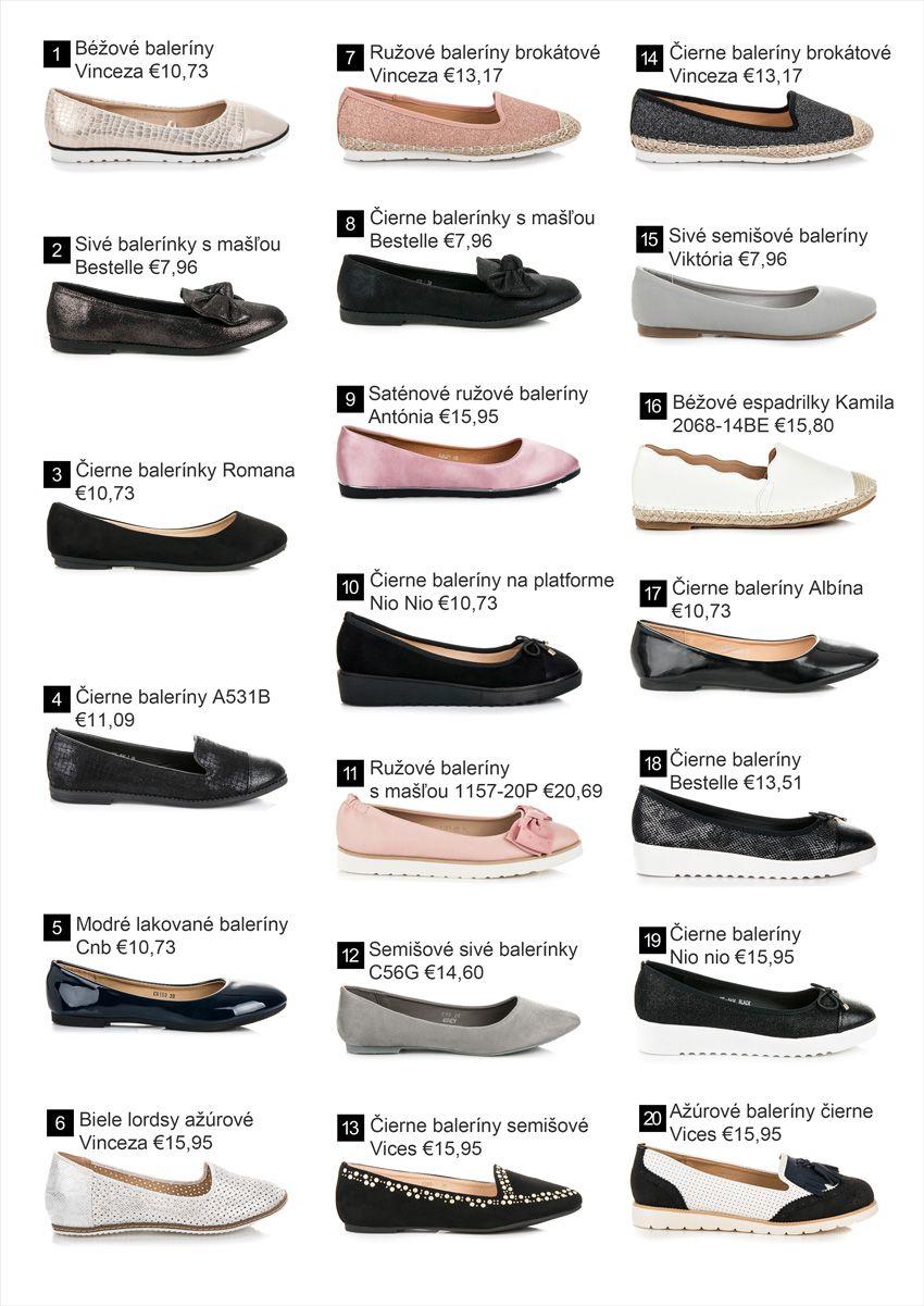 327b5fbfb9 Baleríny - Nová kolekcia obuvi jar leto 2018