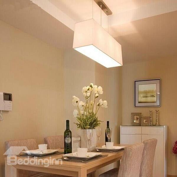 Modern Classic Rectangular Dining Room Pendant Light | Modern ...