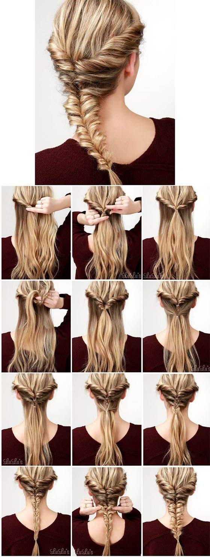 Photo of Frisyrer med fletter – kort hår, langt, plukket, enkelt # enkel # frisure … – Hårstil