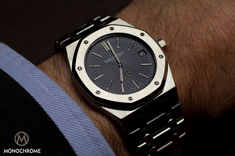 The new Audemars Piguet Royal Oak Jumbo - SIHH 2012 #monochromewatches