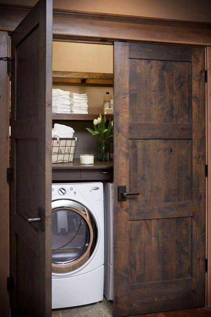 Laundry Nook Ideas We Love Rustic Laundry Rooms Laundry