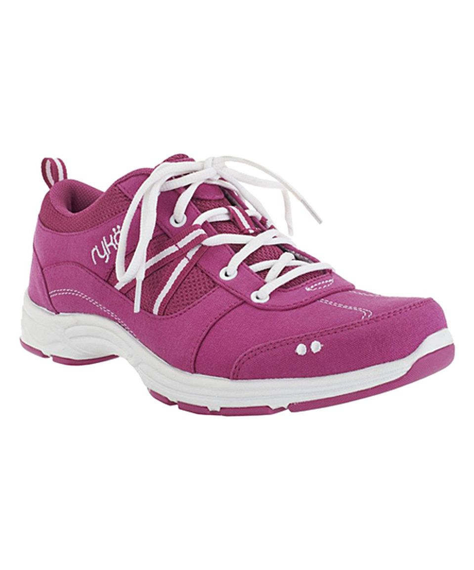 9063be1f00fd Look at this  zulilyfind! Fuchsia Tempo Walking Shoe by Ryka ...