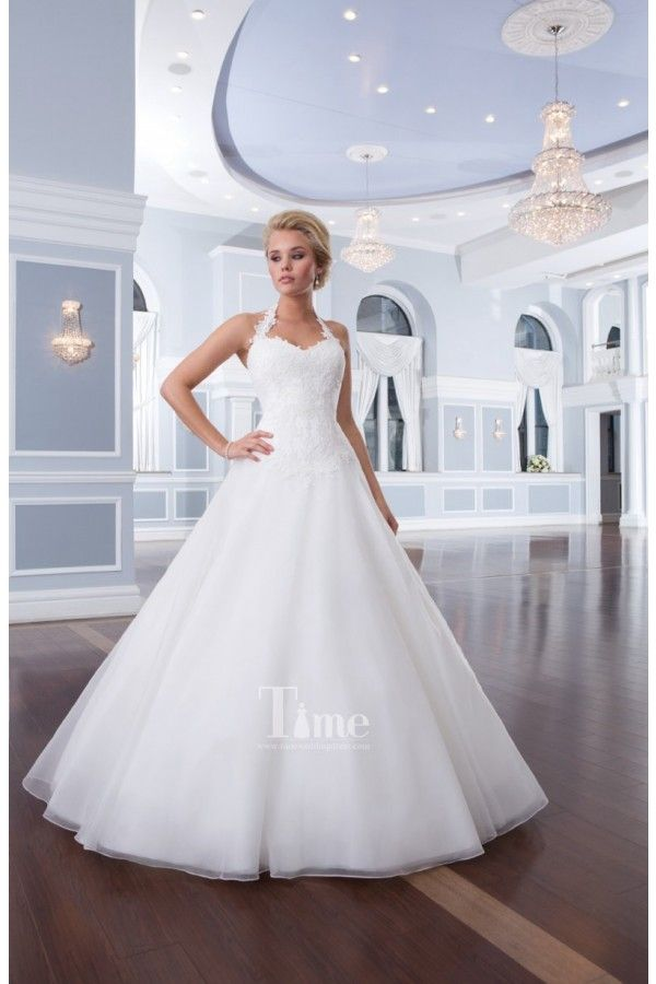 Simple Ball Gown Sweetheart With Removable Halter Neck Strap Wedding Dresses Bridal Gow Lillian West Wedding Dress Ball Gown Wedding Dress Halter Wedding Dress