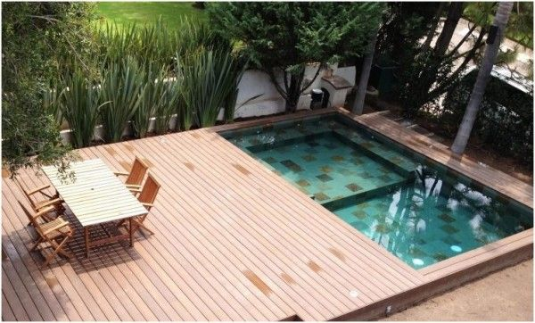 Pool Deck aus Holz oder WPC - Tipps und ...