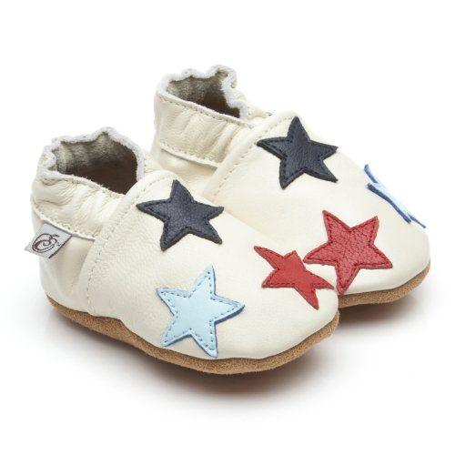Chaussures En Cuir Souple Bébé Ladybug 0-6 Mois As8a3w2