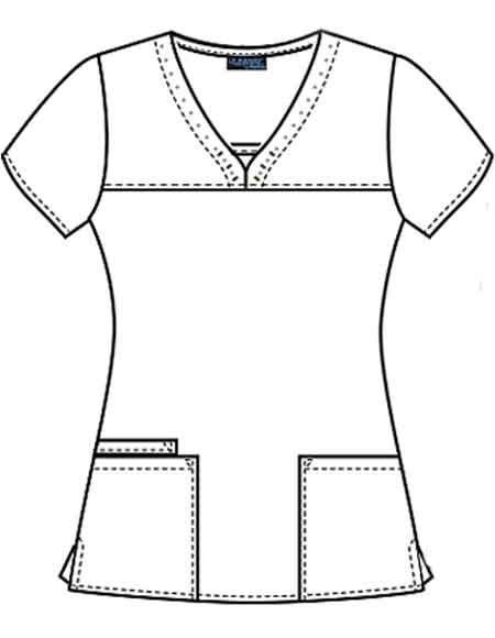 Buy Cherokee Runway Womens V Neck Medical Scrub Top For 21 45