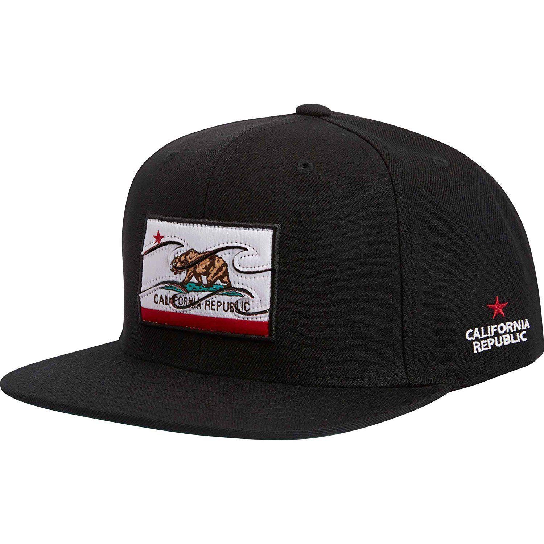 fbd3bee9639 Billabong Men s Native State Flag Adjustable Snapback Hat