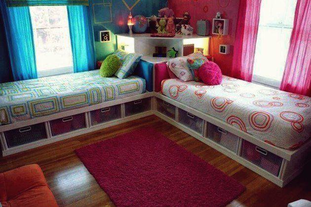 17 Fascinating Ideas For Decorating Twins Bedrooms Properly In 2020 Gemeinsames Kinderschlafzimmer Kinderzimmereinrichtung Schlafzimmer Design