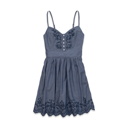 new hollister denim dress bay street chambray dress