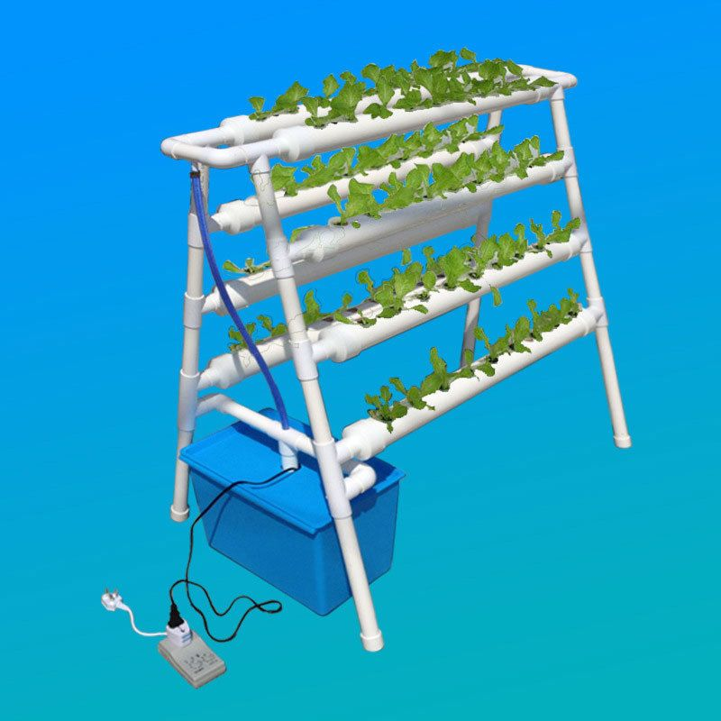 Hydroponic Grow Kit 108 Sites 12 Pipes 3 Layers Garden Plant Vegetable Tool Planting Grow Box Hydroponicsgarden Garden Plants Vegetable Hydroponics Grow Kit