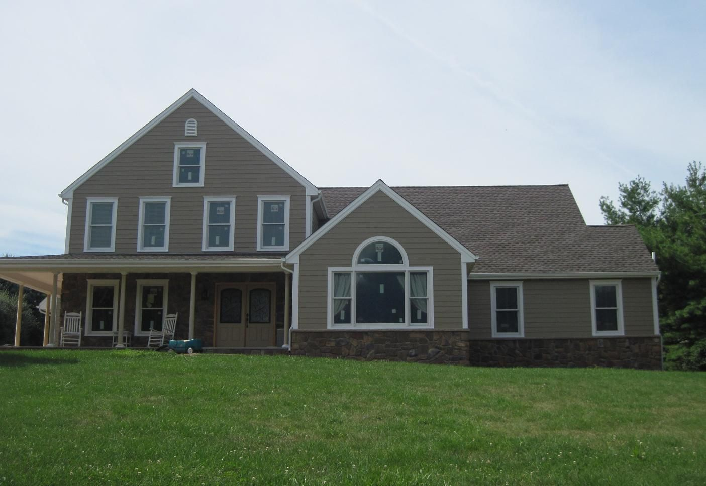 James Hardie Select Cedar Mill Siding Manufactured By