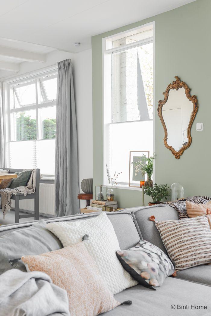 Restyling in mijn woonkamer met de trendkleur groen | Pinterest ...