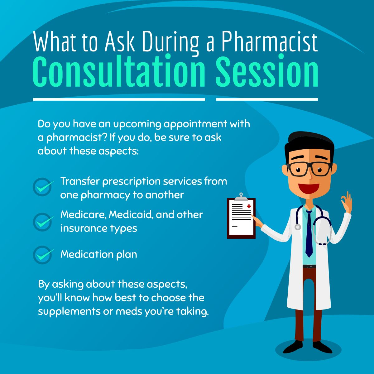 What To Ask During A Pharmacist Consultation Session