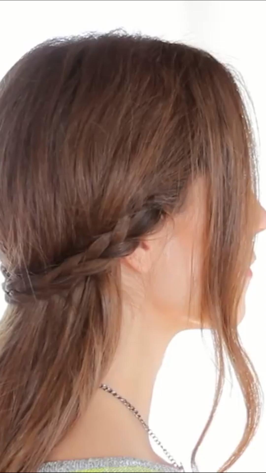 Ein paar Frisur Inspirationen für lange Haare. Das komplette Video mit Anleitung gibts auf YouTube. Einfach auf den Link klicken😃👇