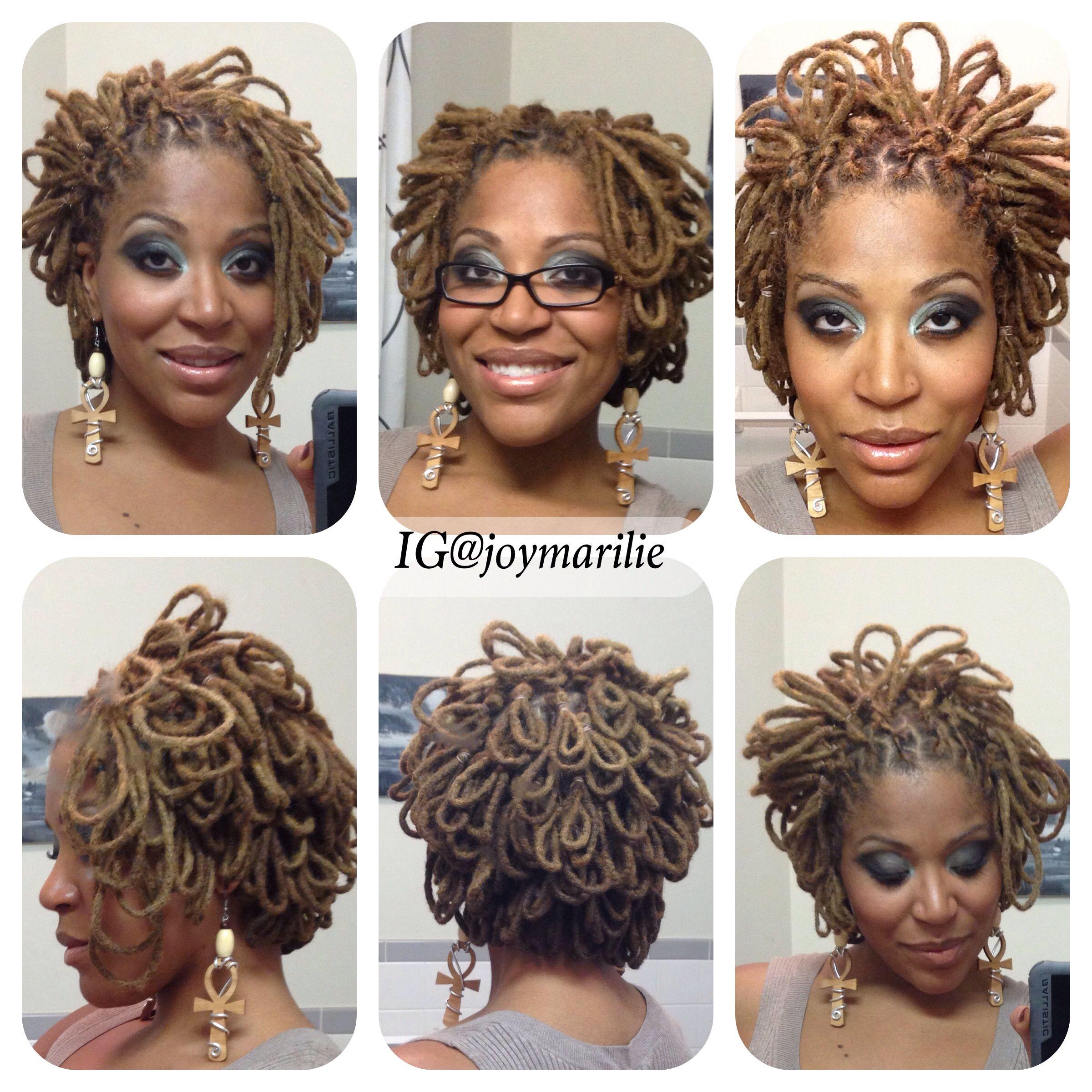 Locs Locks Dreads Natural Hair Loc Petals My Loc Styles And