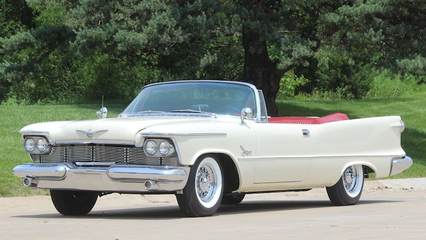 1958 Chrysler Imperial Convertible F206 Dallas 2019 Imperial