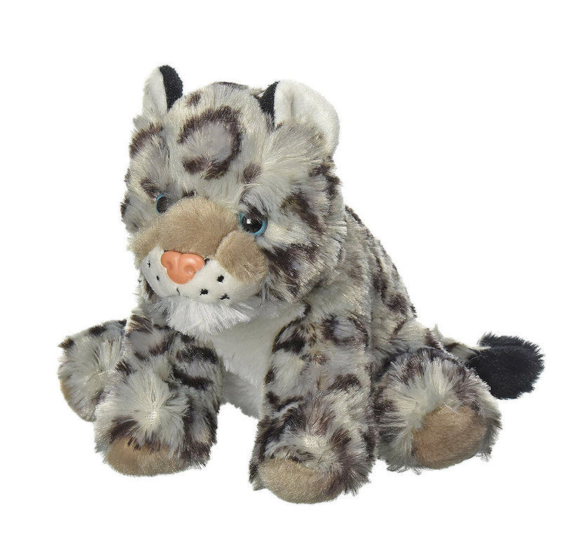 14 95 Aud Snow Leopard Stuffed Animal 8 20cm Soft Plush Toy
