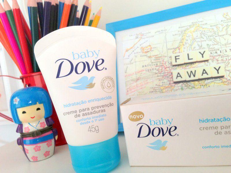 7677e57324f Baby Dove  uma pomadinha 1001 utilidades! Ela pode ser usada de muitas  formas na beleza