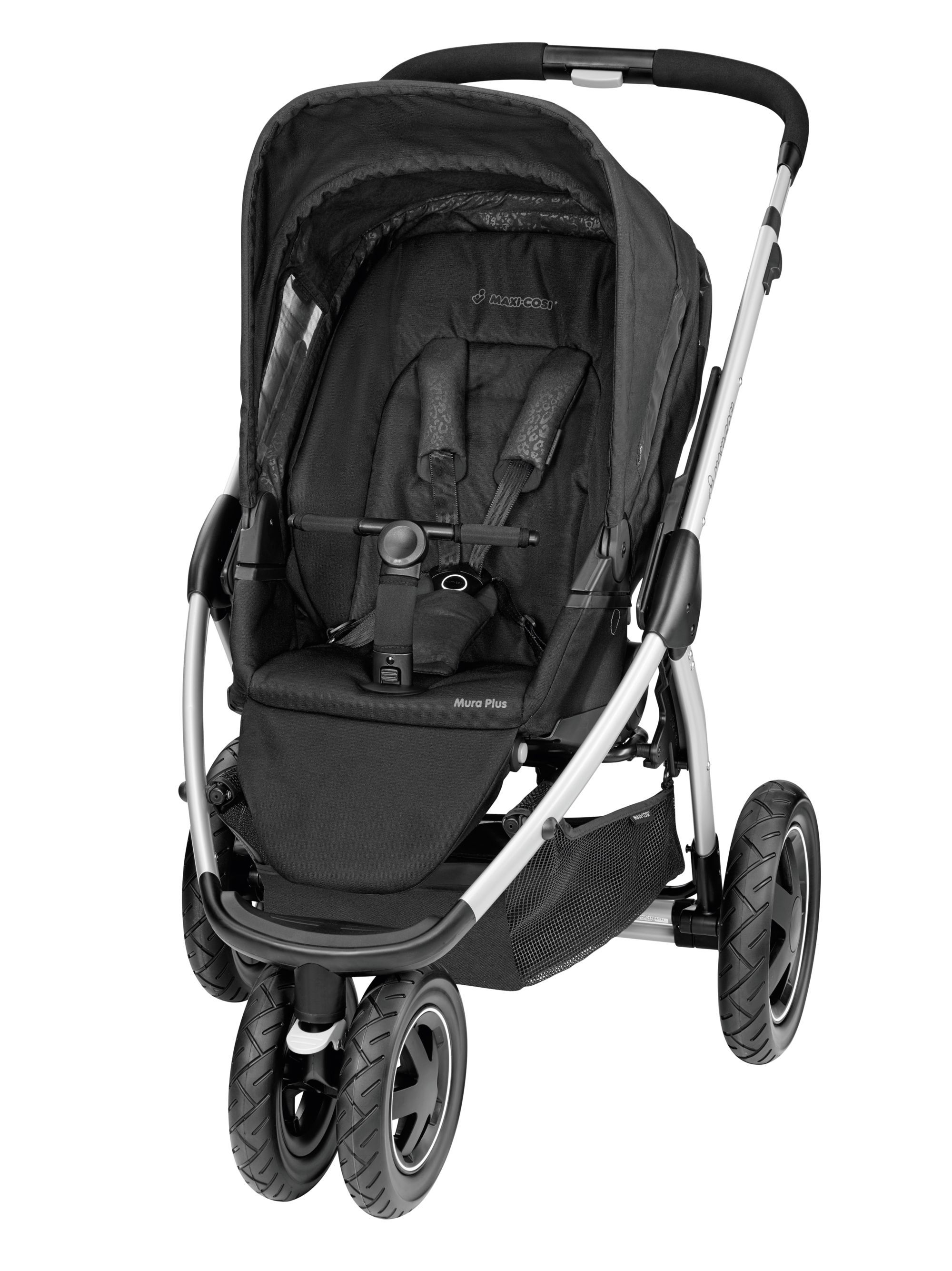 Komfort Buggy Book Von Peg Perego Maxi Cosi Mura Plus 3 Wheeler Pushchair Modern Black