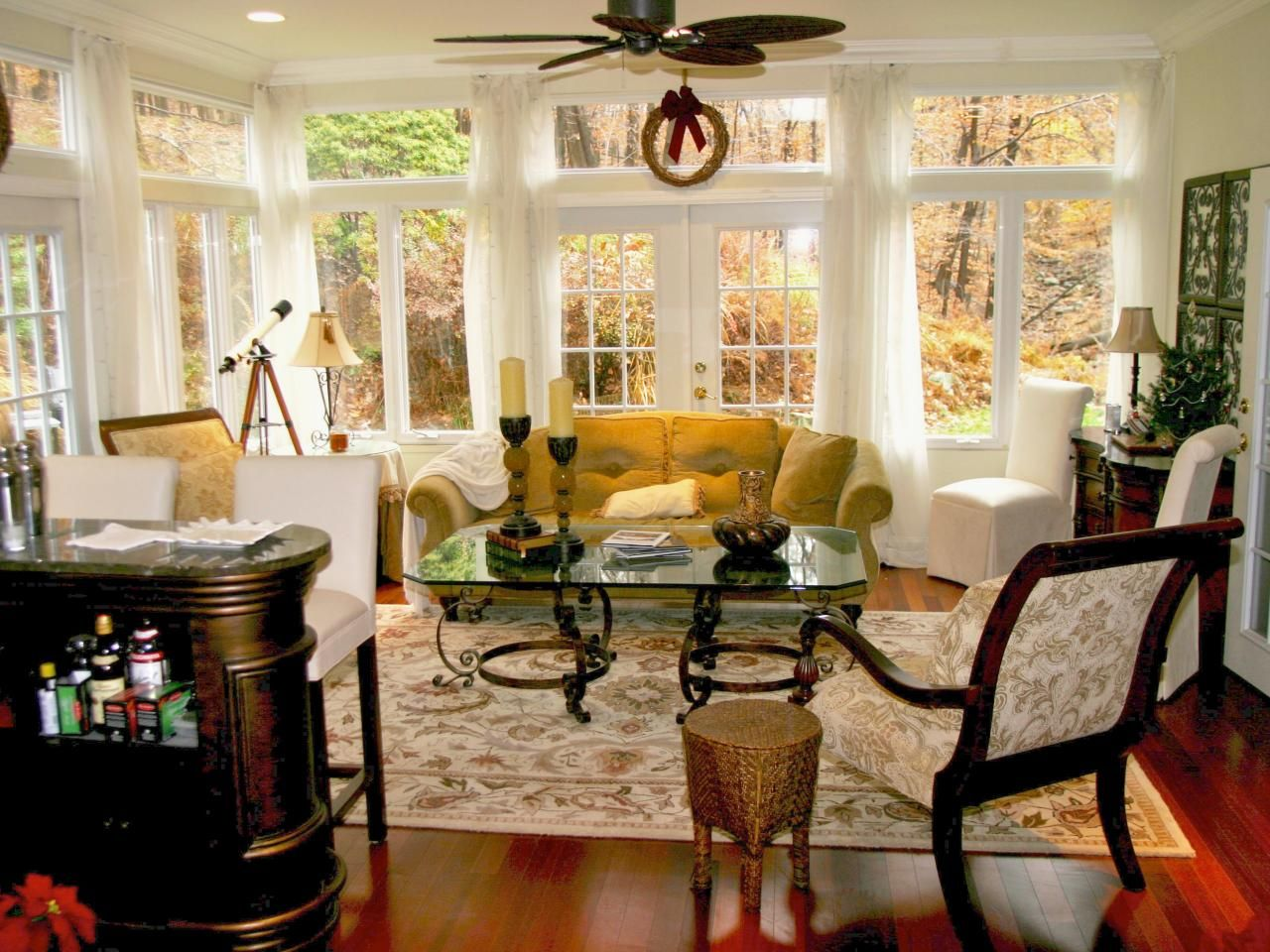 Traditional Sunrooms  Decorating and Design Ideas for Interior
