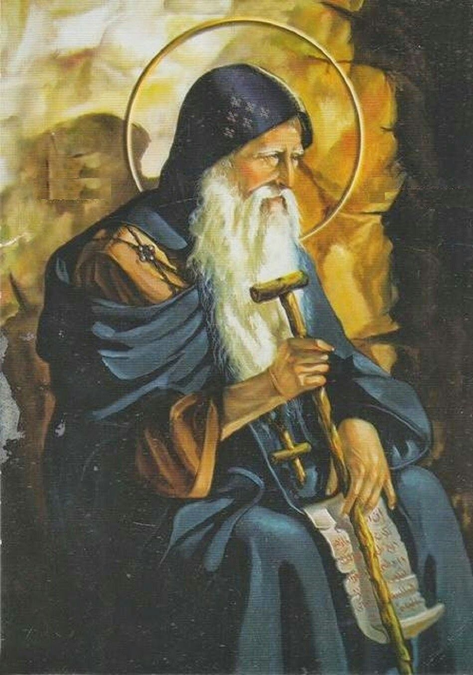 St. Anthony of the Desert (the Great) | Gambar, Doa, Tuhan