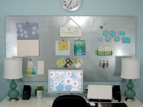 Magnet Board Office Space Diy Magnettafel Pinnwand Selber