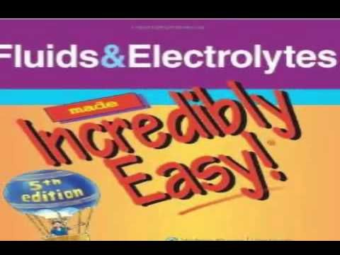 Download Fluids Electrolytes Made Incredibly Easy Pdf Nursing 101