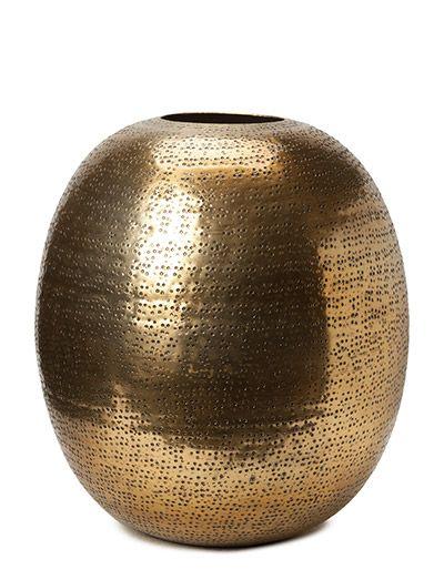 ILMAINEN TOIMITUS - DAY Home Hammered Vase (Gold) Boozt.com:issa. Uusi DAY Home kokoelma 2015! Tarjoamme nopean toimituksen ja helpon palautuksen.