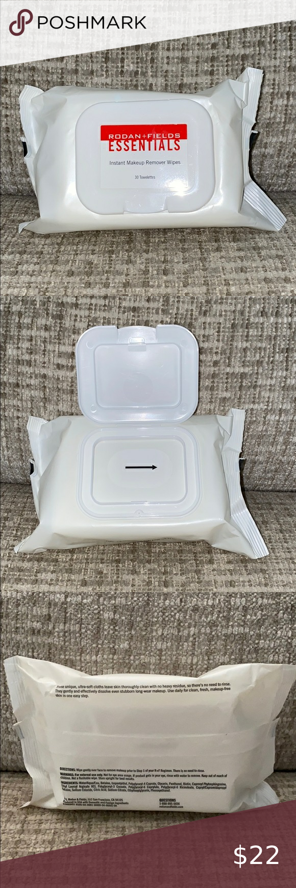 Rodan and Fields Instant Makeup Remover Wipes in 2020
