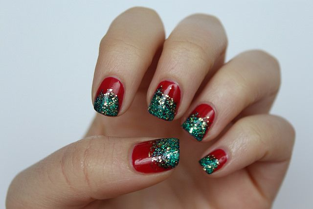 Living After Midnite Glitter Christmas Nails Holiday Nail Designs Christmas Nails Acrylic Christmas Nail Designs