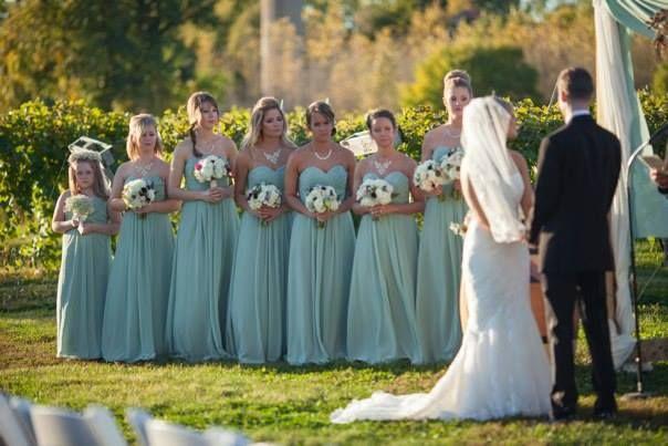 9fdccdf710a mint bridesmaid dresses - bill levkoff pistachio long chiffon ...
