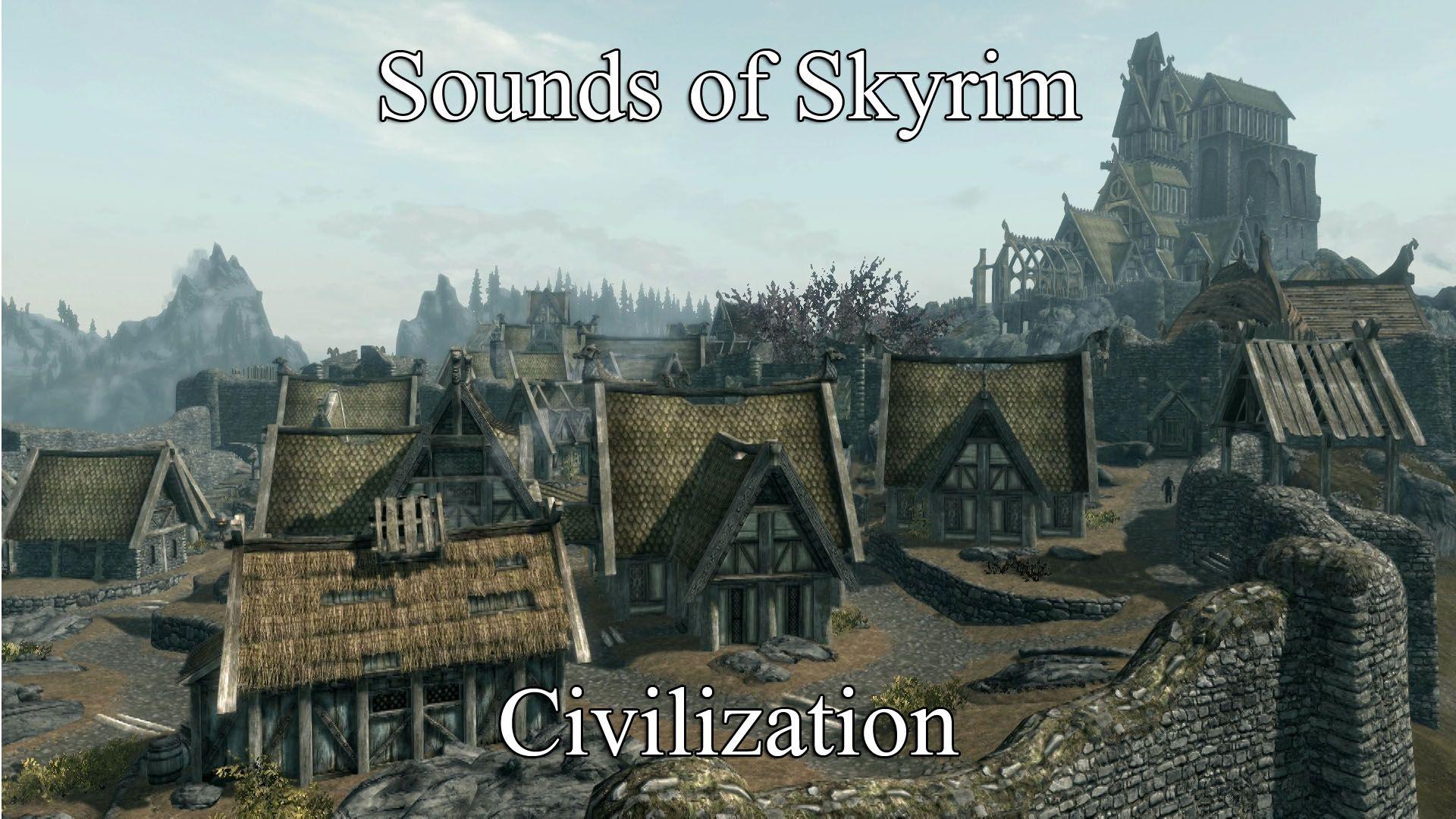 Skyrim мод sounds of skyrim скачать