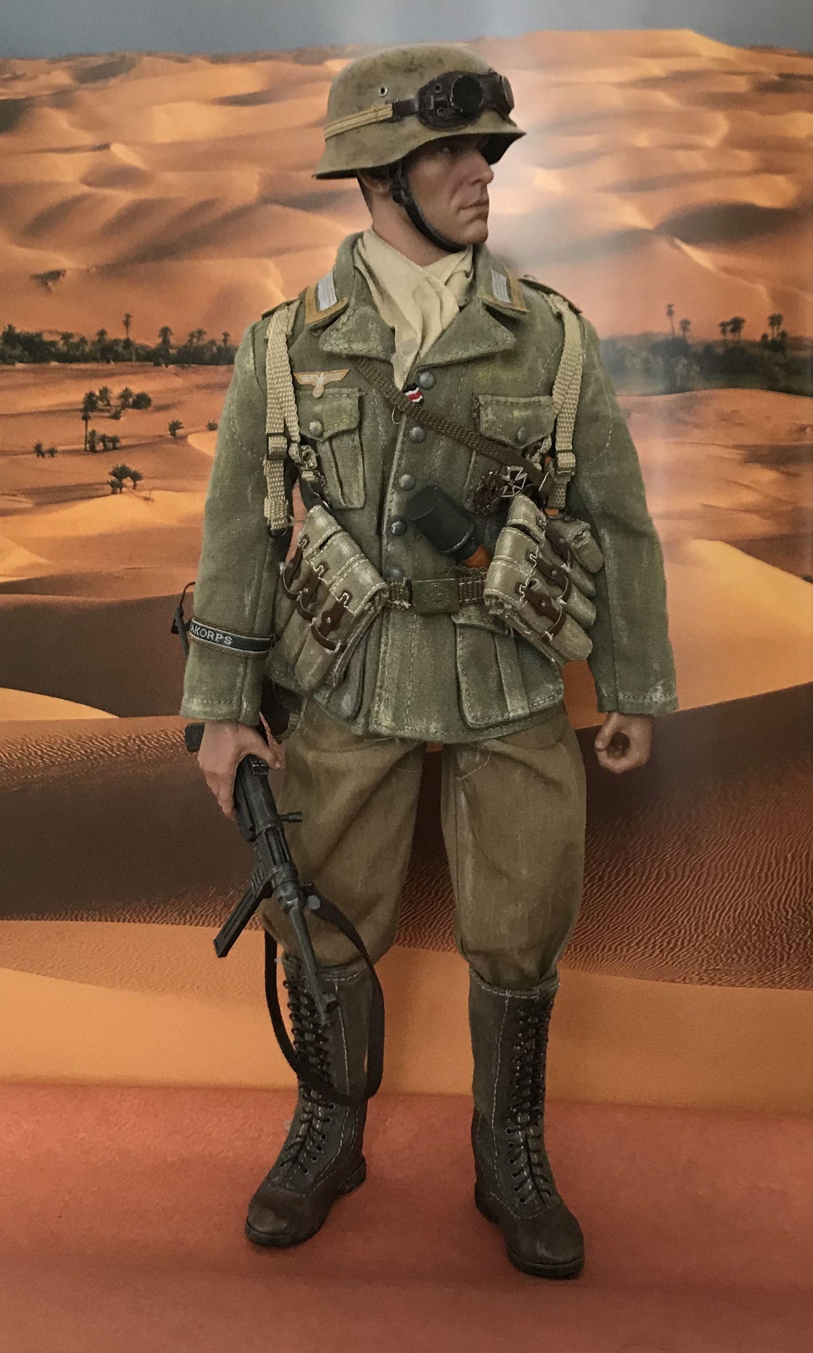 1:6 Scale Soldier Model World war ii British Brown Light Machine Gun