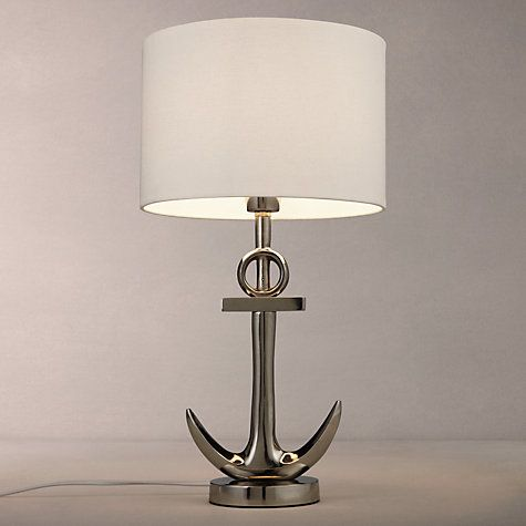 Attractive Buy John Lewis Anchor Table Lamp, Antique Metal Online At Johnlewis.com