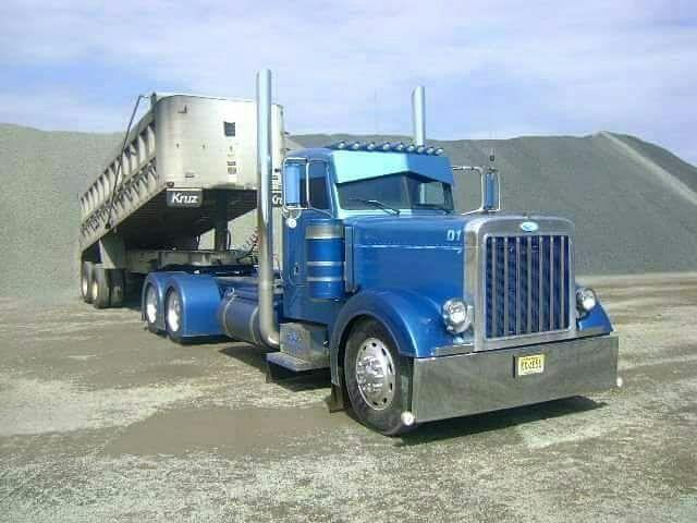 Peterbilt custom 379 trucks and stuff pinterest - Camion benne americain ...