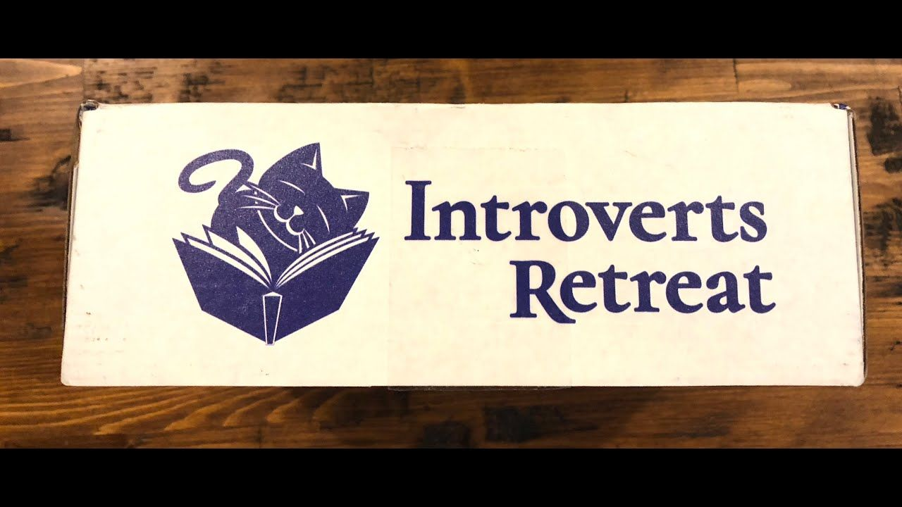 Introverts Retreat Subscription Box Unboxing | Introvert ...