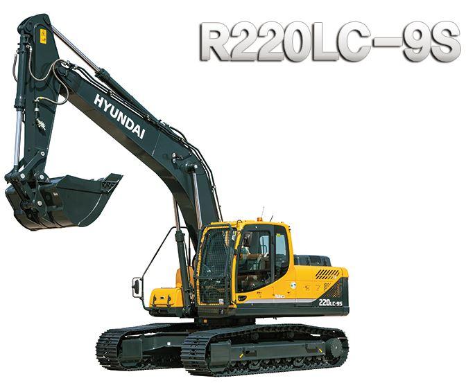 Hyundai R220lc 9s Crawler Excavator Operators Manual Pdf Download Hyundai Excavator Hydraulic Breaker