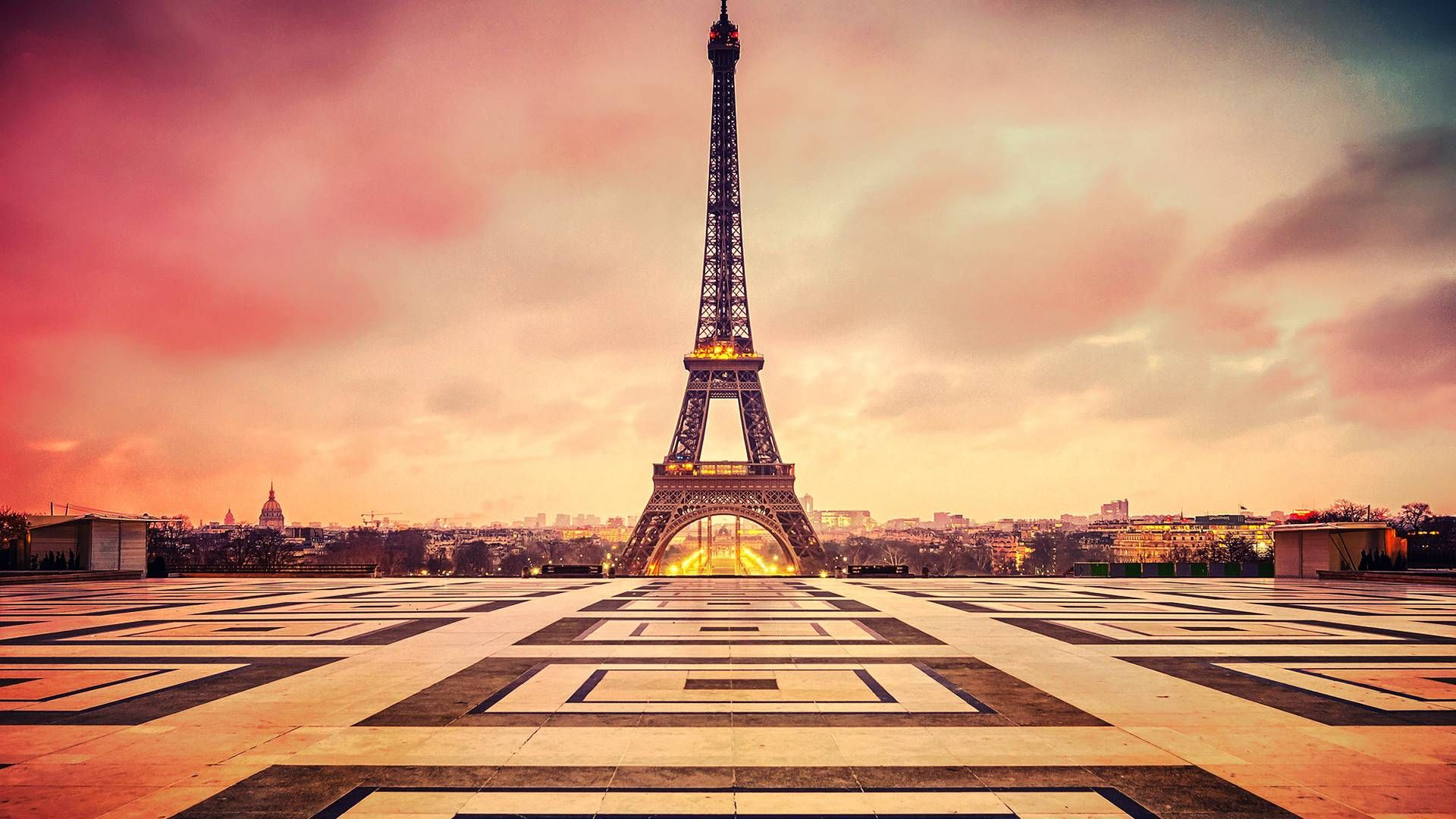 Обои Eiffel tower, france, paris, la tour eiffel. Города foto 10