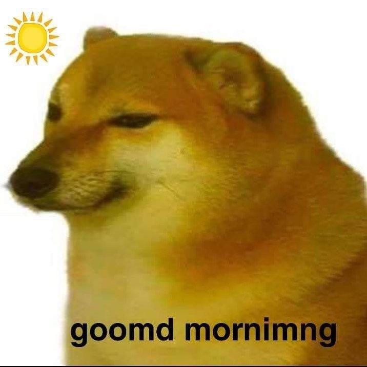 Cheems Doge Burger Lore Meme Doggo Dank Memes Mug Swoll Buff Dog Dogge Cheem Burgerlore Reddit Pinterest Dogerino