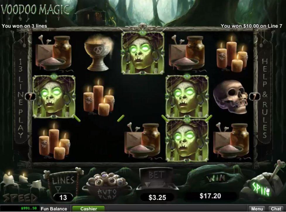 Voodoo Online Casino