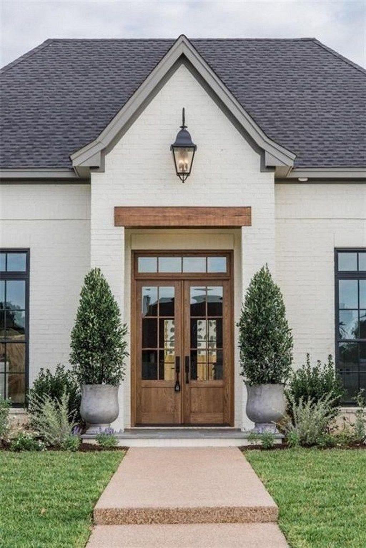 Maison Peinte En Blanc Exterieur 30+ unordinary exterior house trends ideas for you