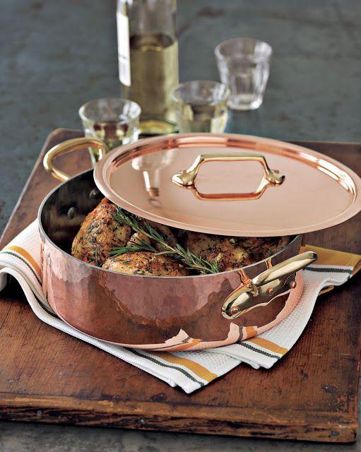 Copper pans - LOVE!