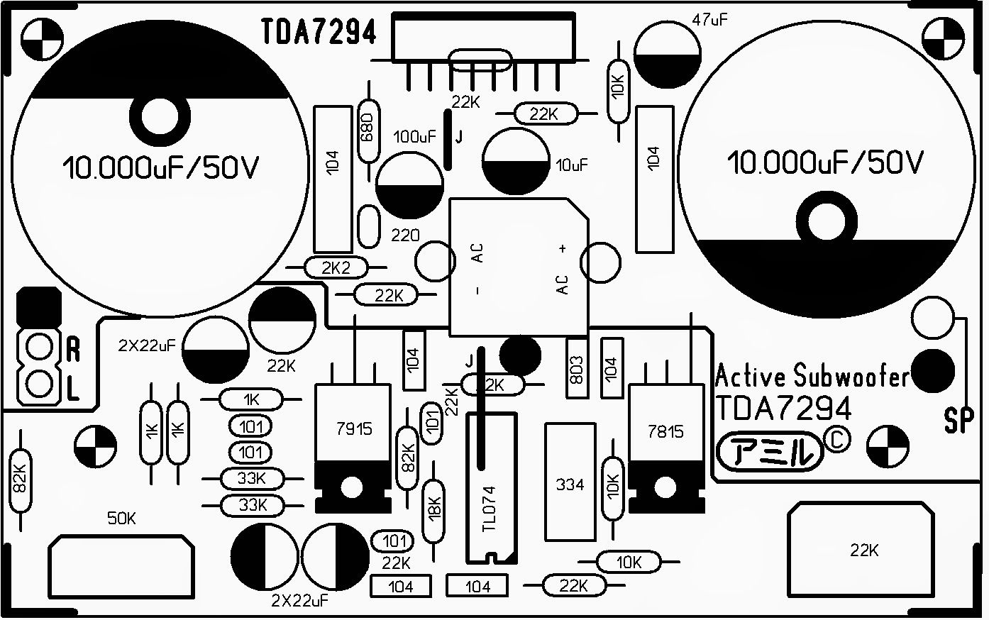 Diy Electronics Projects Audio Amplifier Led
