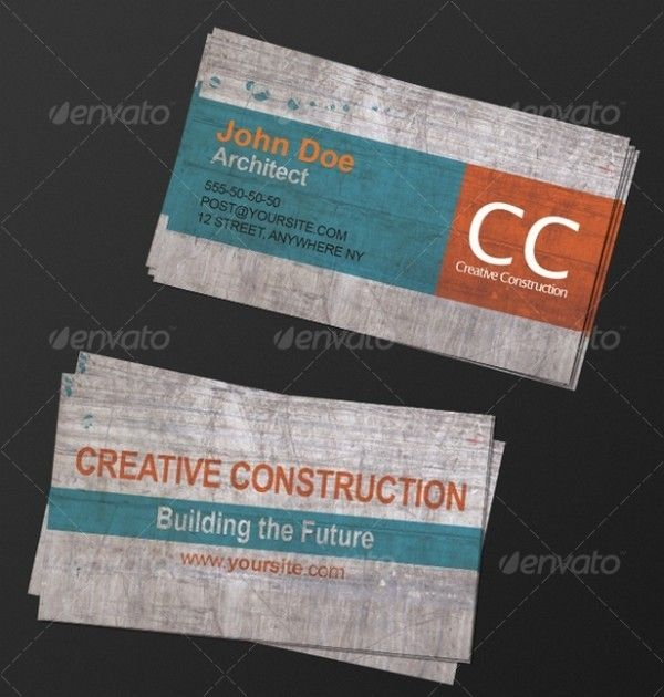 40 Architectsu0027 Business Cards for Delivering Your Message the - name card example