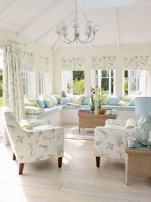 Laura Ashley Interiors 2015 Palm House Colelction Elegant Interior