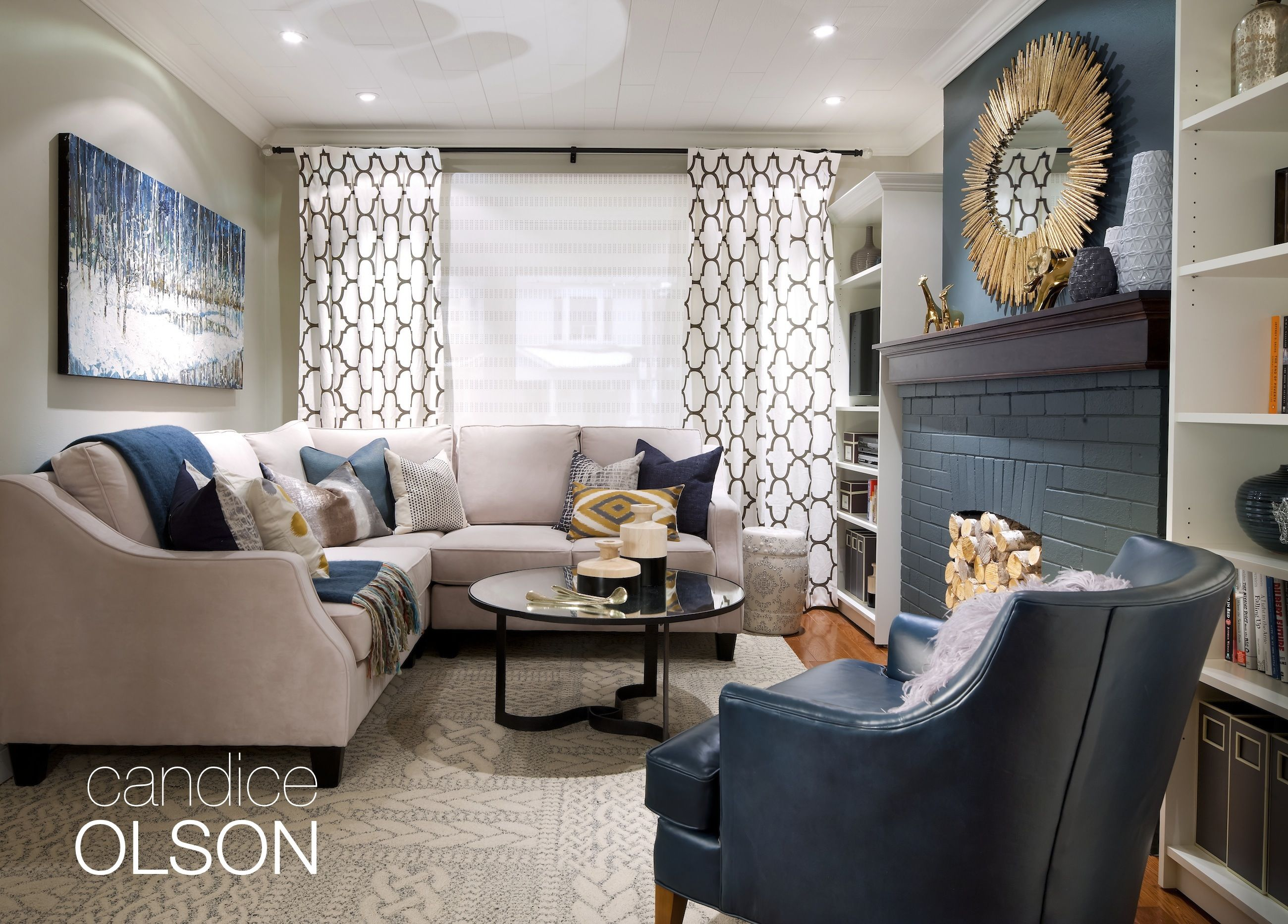 Blue echo room benjamin moore 39 s blue echo af 505 is the - What finish of paint for living room ...