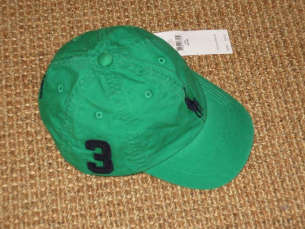 4293c9e9ad6 POLO RALPH LAUREN BABY BOY S BASEBALL CAP 12 - 24 MONTHS BIG PONY NEW   PoloRalphLauren